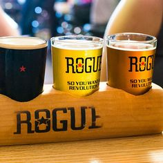 Rogue Brewery. If you can't get to Yaquina Bay, you can always hit the one in the Pearl. Beer nirvana.