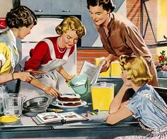 Looking for a REAL vintage housewife schedule? Try out this Mid-Century Mom Daily Routine from the experts of the and Now you can do it all! Creation Image, Vintage Housewife, Serenity Now, Household Cleaning Tips, Cleaning Checklist, Cleaning Products, Retro Advertising, Passion, Flirting Memes