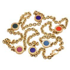 BULGARI Long Chain Necklace