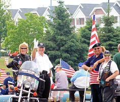 """http://pinterest.com/pin/create/button/?url=http://fineartamerica.com/featured/veterans-park-celebration-kay-novy.html=http://fineartamerica.com/images-medium/veterans-park-celebration-kay-novy.jpg  """"Veteran's Park Celebration"""" by Kay Novy.  http://kay-novy.artistwebsites.com/"""