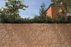 Bloque de hormigón hueco / para muro de contención / rectangular ...