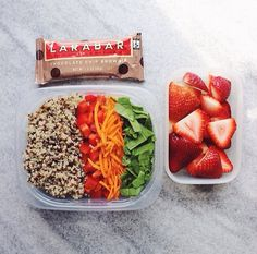 Easy healthy packed lunch for meal prep and busy weeks.