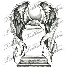 1000 images about angel tattoo designs on pinterest tattoos and body art angel and saint michael. Black Bedroom Furniture Sets. Home Design Ideas