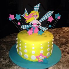 Perfect theme for Janelle! Barbie and super hero in one. Barbie Birthday Party, Barbie Party, 4th Birthday Parties, Birthday Celebration, Girl Birthday, Birthday Ideas, Birthday Cake, Girl Superhero Party, Superhero Cake