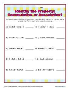 math worksheet : distributive property worksheet 1  addition properties  : Identity Property Of Addition Worksheets