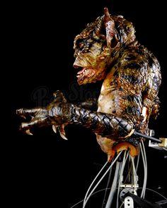 GREMLINS 2: THE NEW BATCH (1990) - Mechanical George Gremlin Puppet - Price Estimate: $4000 - $6000