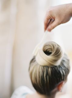 The perfect top knot by Mark Townsend