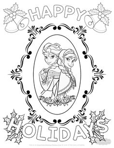 212 Best Christmas Coloring Pages images in 2019