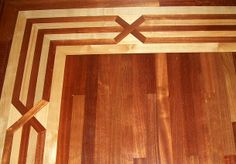 Give your home character with an in-laid border in your hardwood flooring, simple or elegant Hardwood Stairs, Hardwood Floors, Flooring, La Crosse, Elegant, Simple, Room, Character, Design