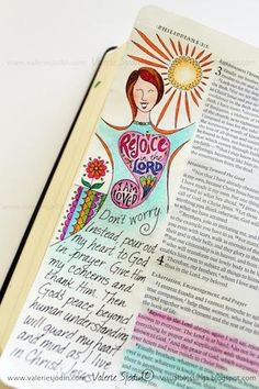 visual blessings: It's all in my Mind... Bible Art Journaling