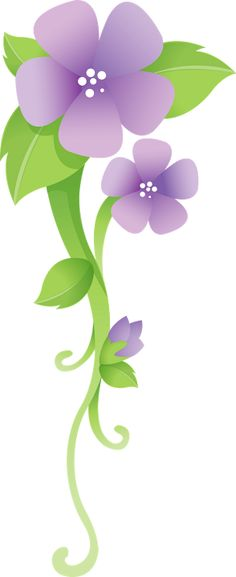 PURPLE FLOWERS *