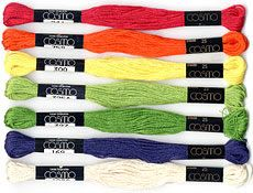 Shop | Category: Embroidery & Cross Stitch | Product: Cosmo 6-Strand Cotton Embroidery Floss