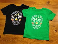 Day of the dead style toddler strider/balance by DiaDeLosBicycles