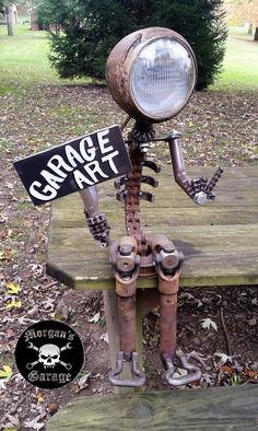 Garage Art from Morgan's Garage.
