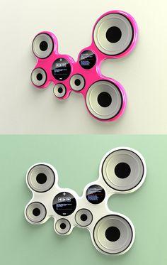 name of design : fruity speaker  design by : yue li
