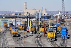 RailPictures.Net Photo: UPY 629 Union Pacific EMD GP15 at Denver, Colorado by BUFFIE