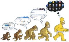 The evolution of man has assisted in the evolution of technology and its uses. The discovering of information has evolved, increasing the availability of information, and increase the number of applications that find information. Therefore, as humans evolves and advance further in life, technology becomes more reliable and helpful as time passes.