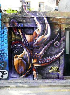 """Octopus"" by Carneiro Aveiro ~ Portugal (photo via Twitter)"