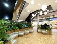 Food Court, Food Design, Mall, Restaurant, Interior, Projects, Log Projects, Blue Prints, Indoor