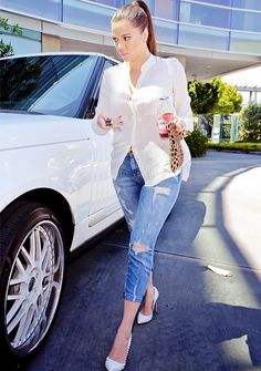 Khloe Kardashian - Tumblr Tuesday Beautiful Kardashian