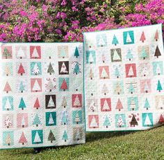 Sister #holidaypatchworkforest quilts for Christmas : @kaileemarae Quilting: @stuphfromsteph #higginsMiami