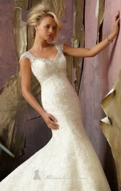 Sweetheart Strap Crystal dress by Mori Lee 1854