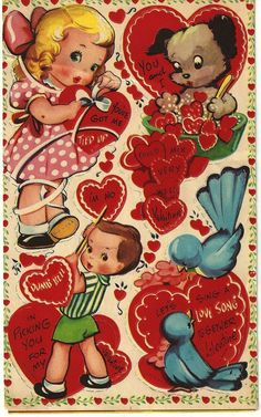 Collectibles, Paper, Vintage Greeting Cards