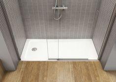 Mejores 57 im genes de platos de ducha showers en for Baneras pequenas roca