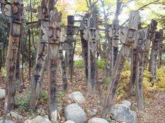 Korea Totem. 솟대, 장승, 천하지하대장군