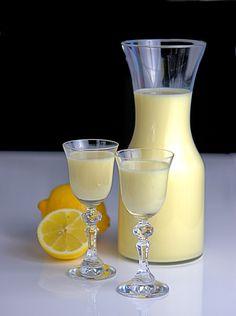 Crema di limoncello, likier cytrynowy