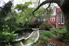 Gorgeous views and grounds at 140 Prospect St, East Side Of Prov, RI.  Offered by Nelson Taylor  http://www.raveis.com/mls/1017995/140_prospect_st_eastsideofprov_ri/#