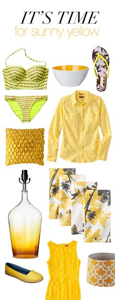 Happy First Day of #Spring! Ring in the season and bask in sunny, zesty yellow