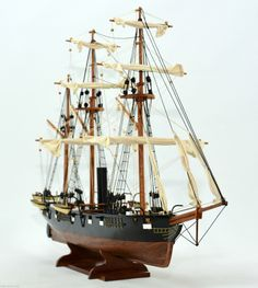 CSS Alabama Tall Ship Model