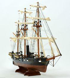 CSS Alabama Tall Ship Model