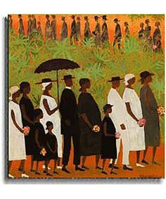 Ellis Wilson, Funeral Procession