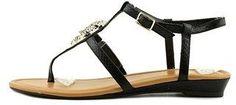 Thalia Sodi Womens Elba Fabric Open Toe Casual T-strap Sandals.