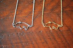 Razorback necklace by Gameday Runway