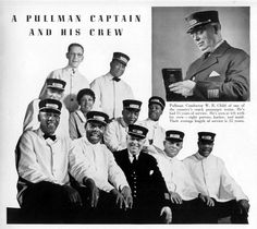 PULLMAN PORTERS |  created history in the face of adversity and racial prejudice. The Pullman Company, which made sleeper cars, was at one time the largest employer of black men in the United States. The Pullman porters laid the groundwork for the civil rights movement by forming the first black labor union, the Brotherhood of Sleeping Car Porters, under the leadership of A. Philip Randolph in the 1920's.