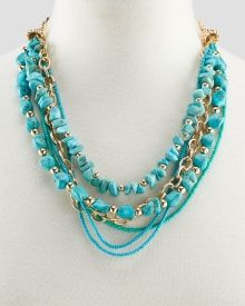 Santa Fe Six-Row Beaded Necklace, Get awesome discounts up to Off at Stein Mart using Mother's Day Promo Codes. Mother's Day Special Gifts, Turquoise Necklace, Beaded Necklace, Santa Fe, Fashion Necklace, Awesome, Jewelry, Women, Beaded Collar