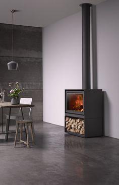 wood stove - Stûv 16-H | © François Chevalier