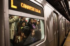 Bracing for the Worst on the L Train - The New York Times
