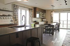 Montana Prairie Tales - Montana Prairie Tales Blog - kitchen before andafter