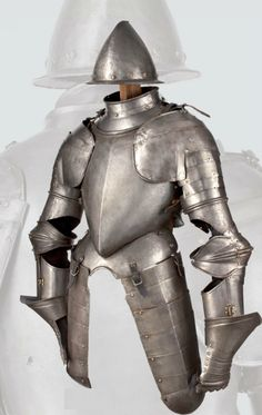 A Spanish three-quater length armour for a man-at-arms, late 16th century.