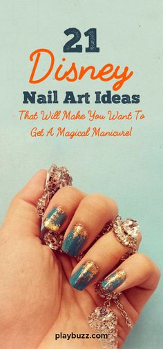 Flip the card to reveal your magical manicure!