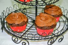 Coffee Frosting Chocolate Cupcakes