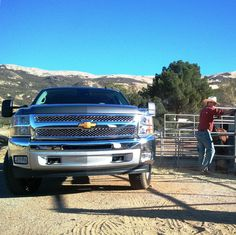 All A Girl Really Needs Is A #Cowboy, His #Silverado And A Beautiful