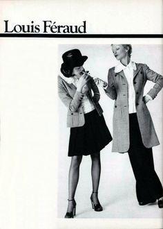 L'officiel magazine 1970s - Louis Feraud