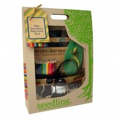 Seedling - Outdoor Explorer Kit. Love these kids, educational & fun. This one is $49.95