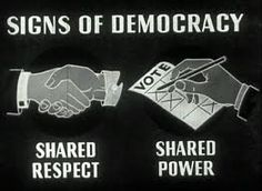 Democracy gives more power to the people than anything else