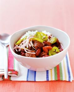 "See the ""Chunky Beef Chili"" in our Chili and Stew Recipes gallery"